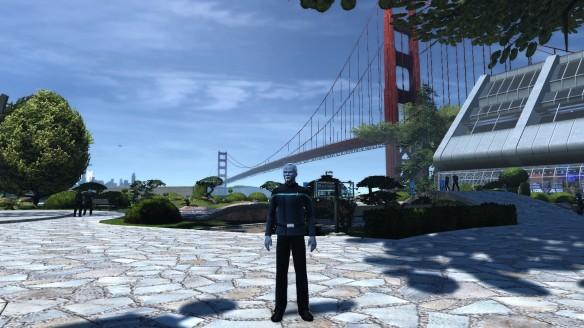 My Andorian in Star Trek Online