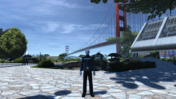 My Andorian in Star Trek Online