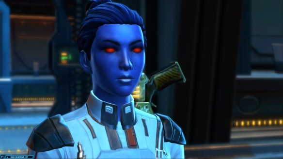 My Chiss Imperial agent in Star Wars: The Old Republic