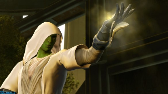 My Mirialan Jedi consular in Star Wars: The Old Republic
