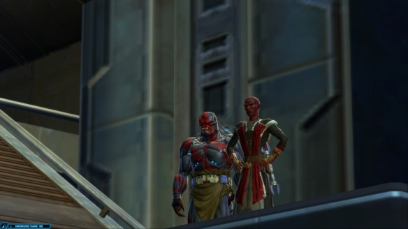 My Sith inquisitor in Star Wars: The Old Republic