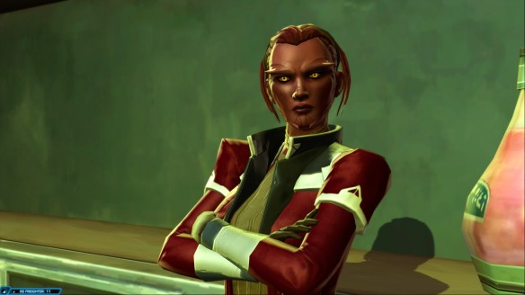 My Sith Pureblood smuggler in Star Wars: The Old Republic