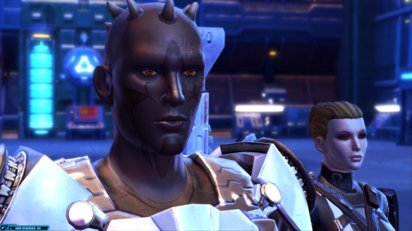 My Zabrak trooper in Star Wars: The Old Republic