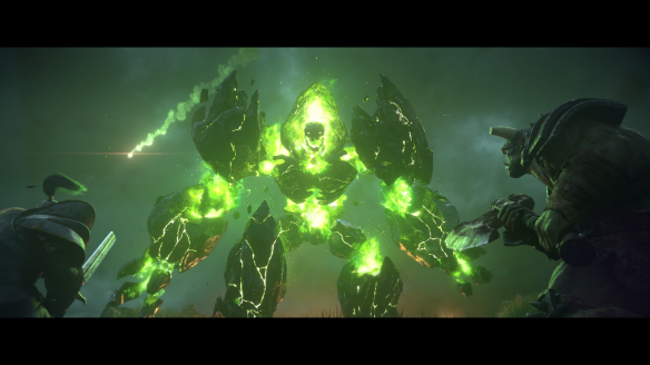 A shot from the cinematic trailer for Warcraft III: Reforged