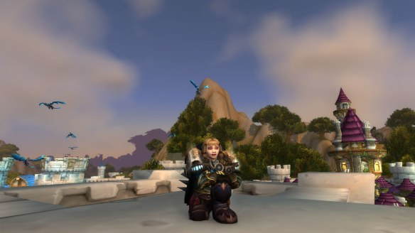 My Dwarf warrior in World of Warcraft