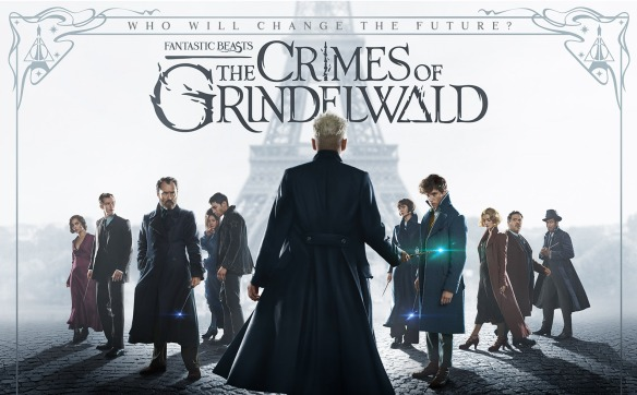 The poster for Fantastic Beasts: The Crimes of Grindelwald