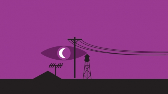 Official art for the audio drama Welcome to Night Vale
