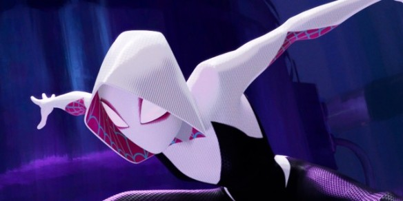 Gwen Stacy/Spider-Woman in Into the Spider-Verse