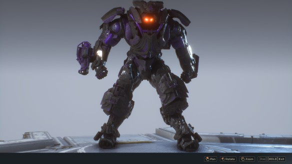 MY Colossus Javelin in Anthem