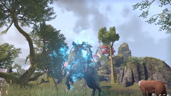 My evolved Indrik mount in Elder Scrolls Online
