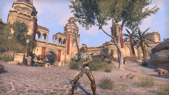 My sorcerer's new look in Elder Scrolls Online
