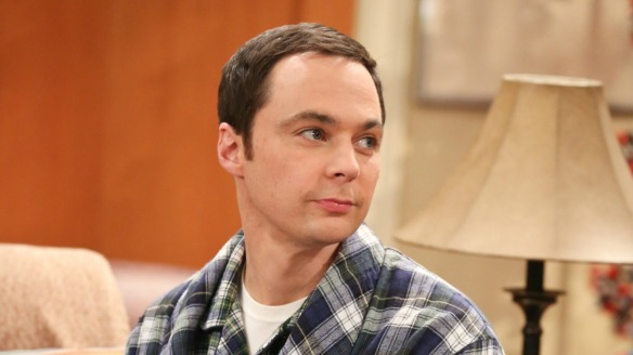 Jim Parsons as Sheldon Cooper on The Big Bang Theory