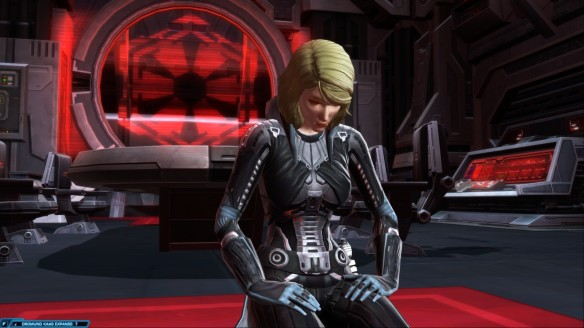 Lana Beniko in Star Wars: The Old Republic