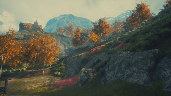 The beautiful scenery of Draugen