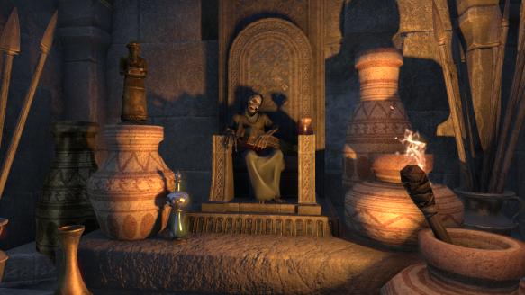 Yet another random skeleton in Elder Scrolls Online