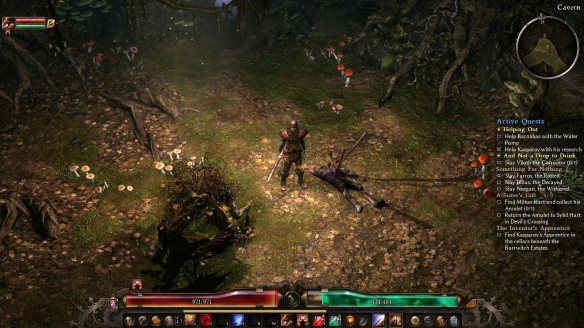 My shaman in Grim Dawn