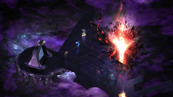 Combat in Torment: Tides of Numenera