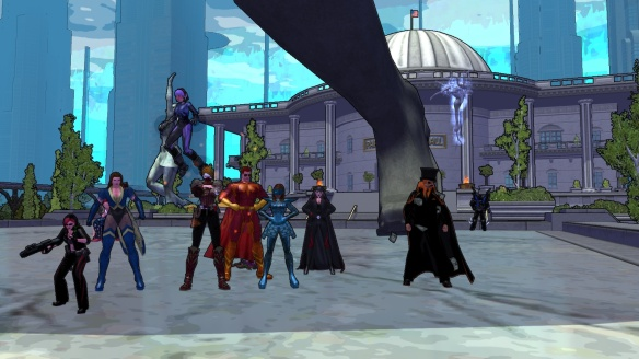 The Massively Overpowered staff in City of Heroes