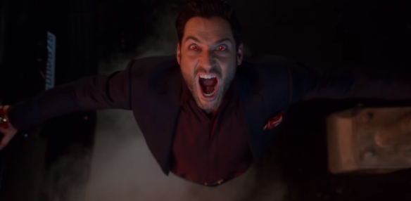 The title character unleashes his demonic strength in season four of Lucifer