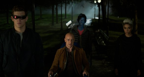 Professor Xavier and the X-Men in Dark Phoenix