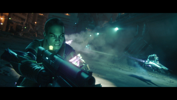 The warlock Ikora Rey in Destiny 2