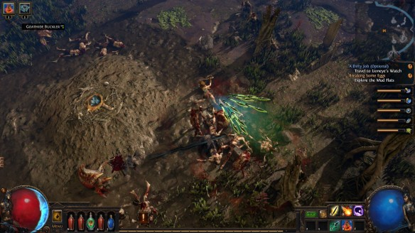 Combat in Path of Exile