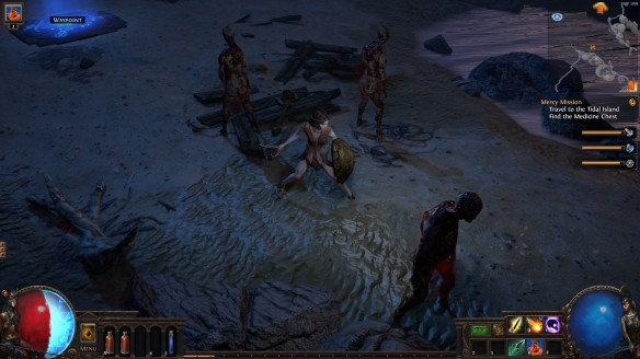My witch in Path of Exile
