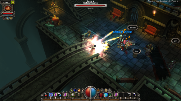 Combat in Torchlight