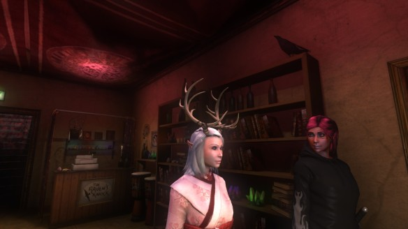 I and my friend's characters in Secret World Legends
