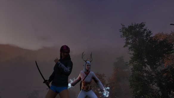 I and my friend's character in Secret World Legends