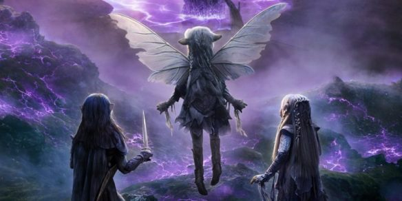 A promotional image for The Dark Crystal: Age of Resistance