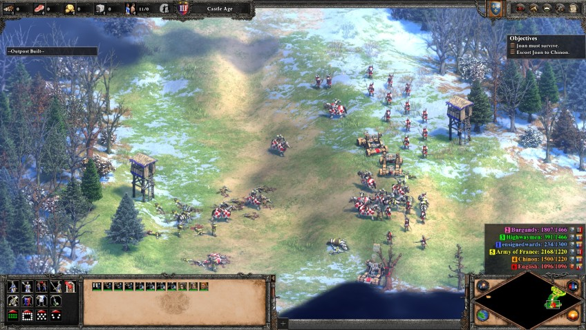 The Joan of Arc campaign in the Age of Empires II Definitive Edition.