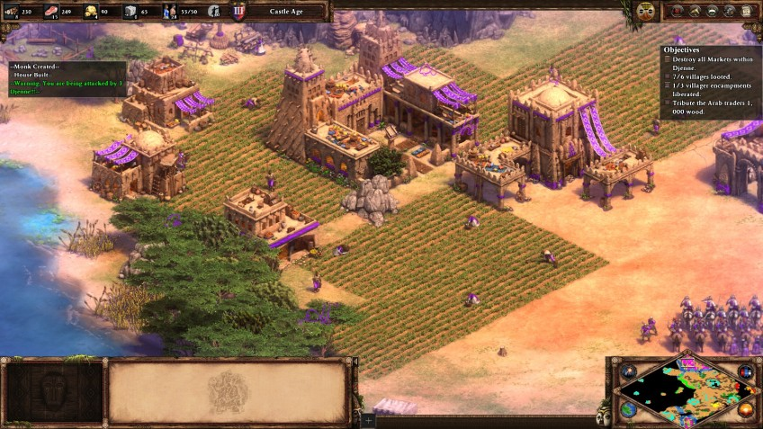 The Malians in the Age of Empires II Definitive Edition.