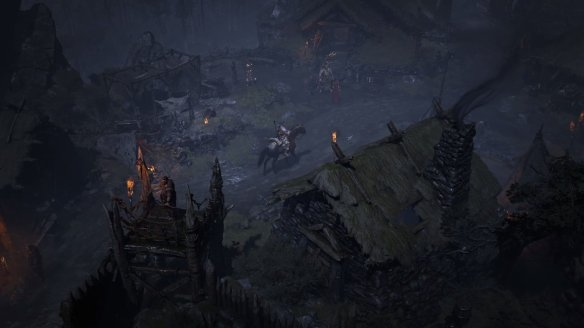 A screenshot from Diablo IV