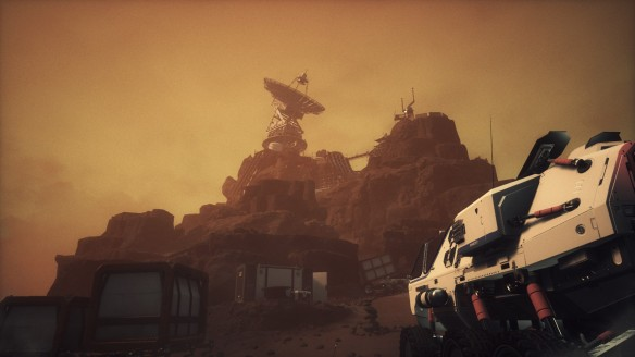 Mars as depicted in The Secret World spin-off game Moons of Madness
