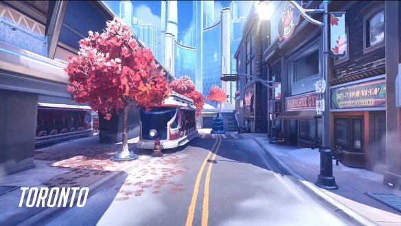 A preview of Overwatch 2's Toronto map