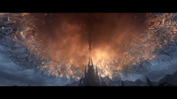 The cinematic trailer for World of Warcraft: Shadowlands