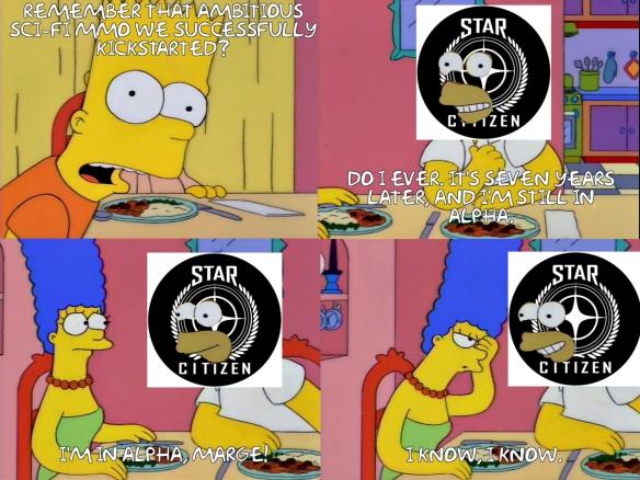 I'm in alpha, Marge!