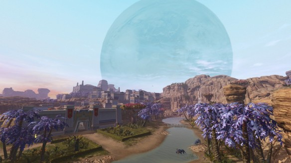 The planet Onderon in Star Wars: The Old Republic.