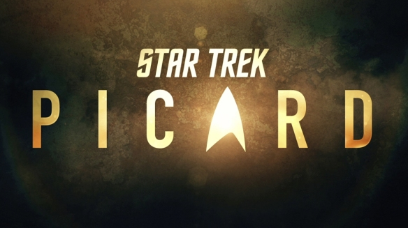 The official logo for Star Trek: Picard.
