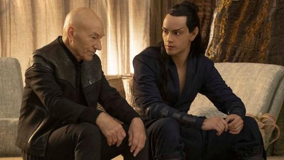 Evan Evagora as Elnor on Star TreK: Picard