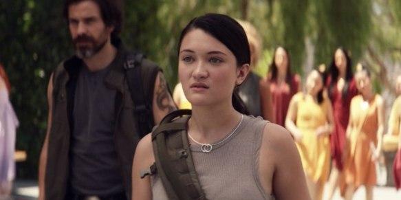 Isa Briones as Soji Asha on Star Trek: Picard