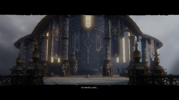 The Stormfall palace in Wolcen: Lords of Mayhem