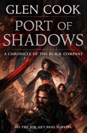 Cover art for The Black Company, book 1.5: Port of Shadows by Glen Cook.
