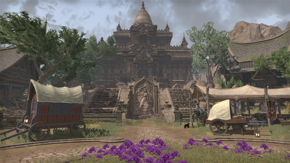 A Khajiit town in the Elsweyr expansion for Elder Scrolls Online.