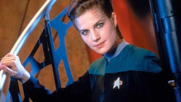 Terry Farrell as Jadzia Dak on Star Trek: Deep Space Nine.