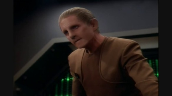 Rene Auberjonois as Odo in Star Trek: Deep Space Nine.