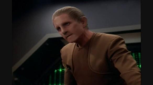 Rene Auberjonois as Odo in Star Trek: Deep Space Nine.