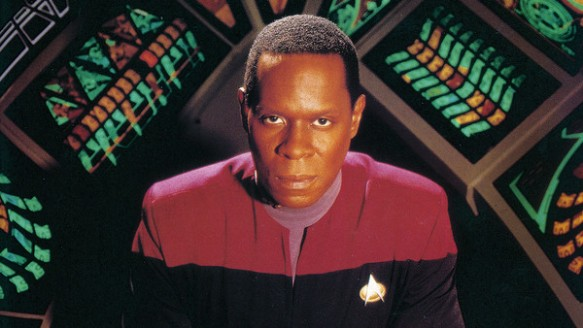 Avery Brooks as Benjamin Sisko on Star Trek: Deep Space Nine.