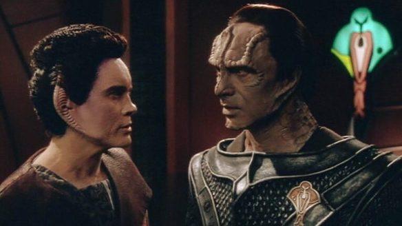 Weyoun and Damar in Star Trek: Deep Space Nine.